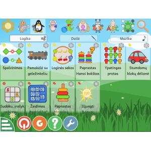 Mokomųjų-lavinamųjų žaidimų...